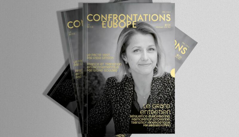 Couverture du magazine Confrontations Europe